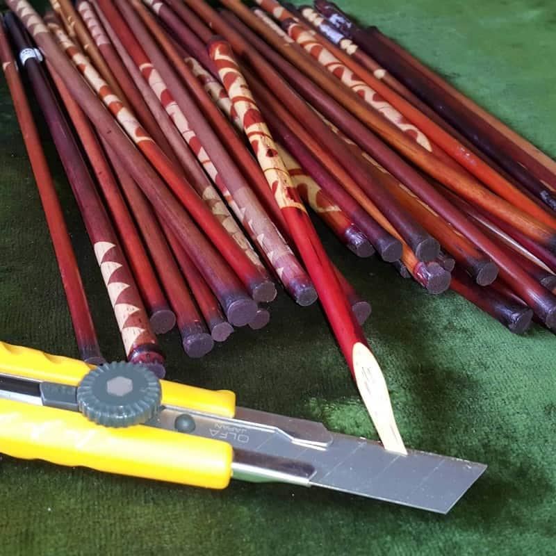 Bamboo Garnished Set of 6