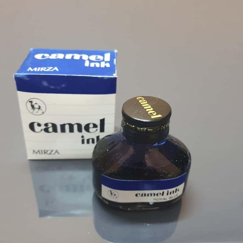 Camel Blue ink